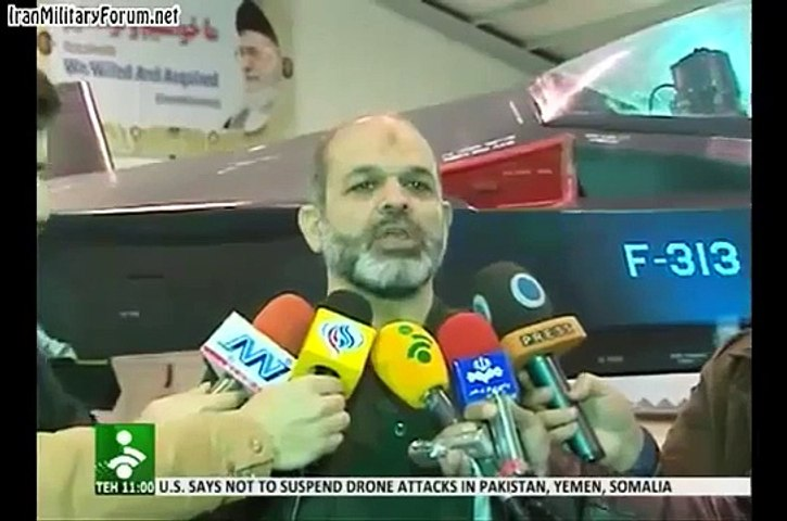 BREAKING NEWS Iran unveiled stealth fighter jet   Godialy.com