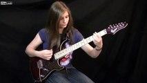 14 year old girl shreds Van Halen - Eruption Guitar Cover  [HD]