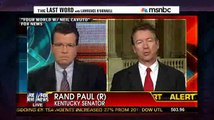 O'Donnell Sticks A Fork In Rand Paul-Christie Feud: Christie Beats 'Relentlessly Uninformed' Paul