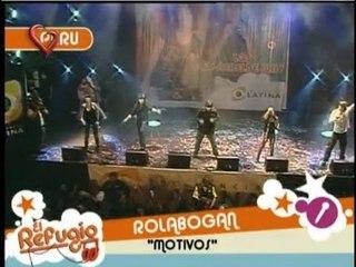El Refugio - Capitulo 110, Rolabogan en vivo