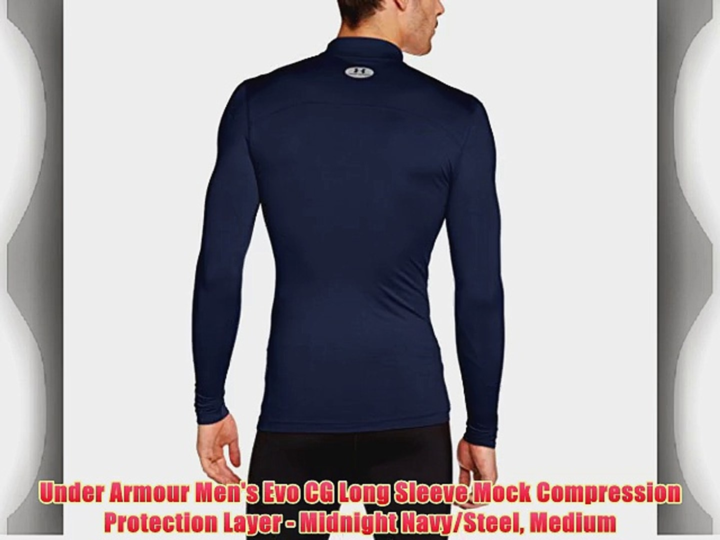 Under Armour Mens Evo CG Compression Hybrid Protection Layer