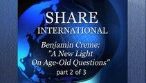Teil 2: Benjamin Creme über Engel, Energien, Liebe, Bewusstsein. Alte Fragen neu betrachtet!