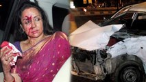 Hema Malini Car Accident | 1 child killed, 4 injured