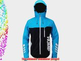 Hump Signal Men's Waterproof Cycle Bike Jacket Large Atomic Blue