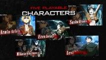 Attack on Titan (L'Attaque des Titans) Humanity in Chains sur 3DS - trailer de lancement