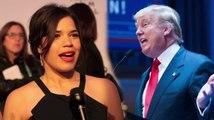 America Ferrera répond aux commentaires de Donald Trump sur les latinos