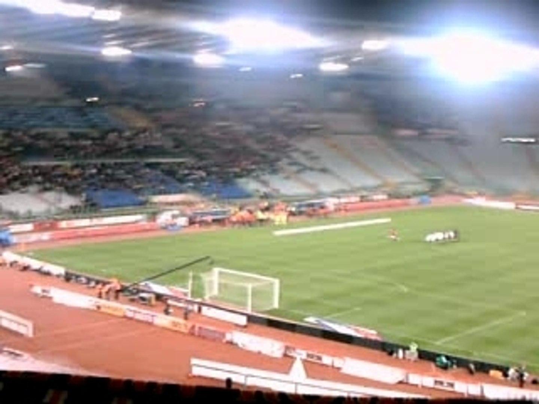 Entré des joueurs AC ROMA - MILAN  AC