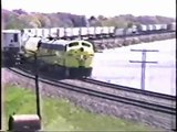 Trains in Northern Illinois DVD RAILFAN VIDEO year-1989 2 min Preview of Full 53 Min DVD