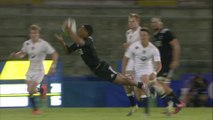 New Zealand Rugby U20 scrum-half's flying cricket catch in final!