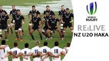 RE:LIVE! New Zealand haka at World Rugby U20s final