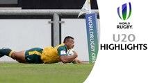 HIGHLIGHTS: Australia 31-21 Scotland at World Rugby U20s