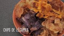 Recette pour l'apéritif : les chips de légumes - Gourmand