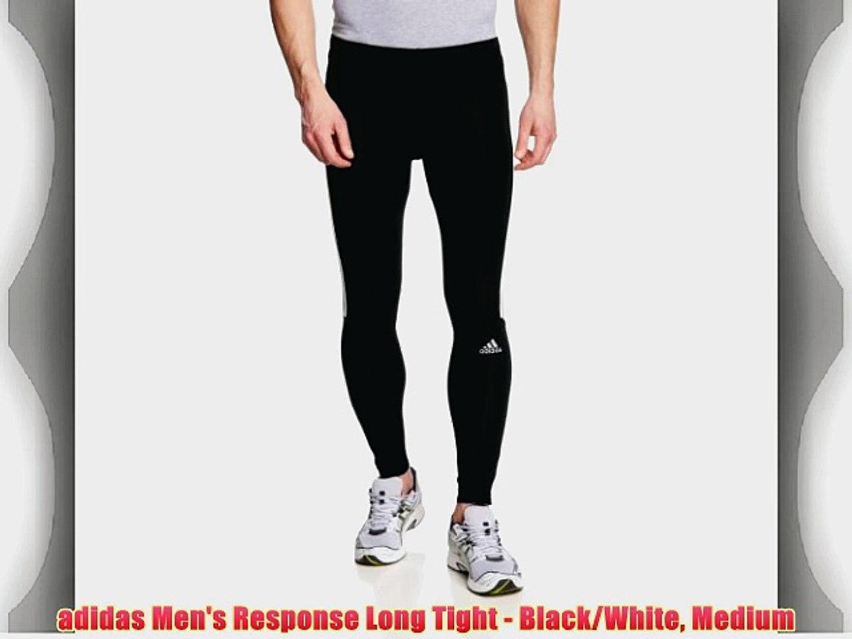 adidas Men's Response Long Tight BlackWhite Medium