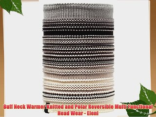 Original Buff Knitted /& Polar Fleece Neckwarmer Unisex Adulto