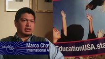 Marco Chavez talks about why international students should come to the U.S.