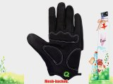 EIGO TAHOE MTB CYCLING GLOVES CYCLE MOUNTAIN BIKING BLACK / WHITE / GREEN LARGE