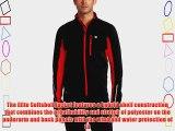 Pearl Izumi Elite Men's Softshell Cycling Jacket - Black/Black Small