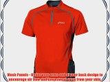 ASICS TRAIL Short Sleeve Half-Zip T-Shirt - Small