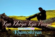 Khamoshiyan - Arijit Singh - New 2015 Full Song Video - Gurmeet New Love Song