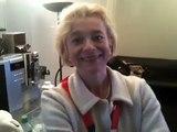 Swisscom-Frau Kathrin Amacker über ihren JRZ-Gästebuch-Eintrag