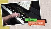 Chopin Waltz No  6 (Minute Waltz) Piano Op  64 No  1 wmv