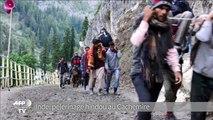 Pèlerinage hindou dans les montagnes du Cachemire