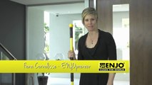 Cleaning floors with ENJO -- floor tiles and more
