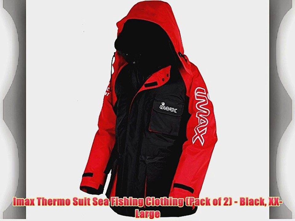 Sea Fishing Suit Thermal Suit Imax Oceanic Thermo Suit Waterproof  Large