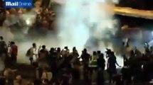Hong Kong Pro-Democracy Protesters → Police Unleash Tear Gas in Hong Kong Protests (9/28/2014)