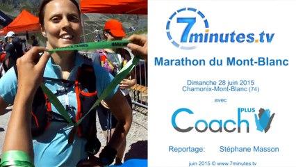 Marathon du Mont-Blanc 2015 - La course