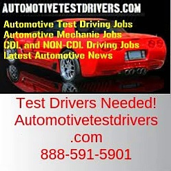 Test Driving Jobs In Glendale CA | Autotestdrivers.com | 888-591-5901