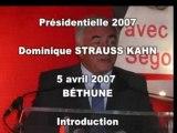 DSK, Béthune 4 avril 2007