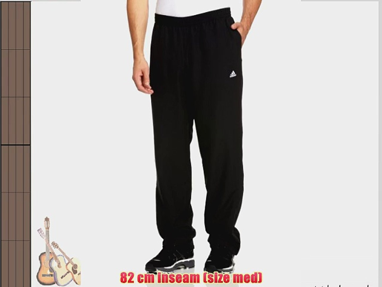 adidas Men's Essentials Standford Open Hem Pant Black XX Large