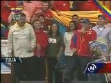 El Potro Álvarez y Nicolás Maduro en Zulia canción Chávez para siempre, Maduro Presidente
