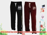 ARD Men's Fleece Joggers Track Suit Bottom Jogging Exercise Fitness Boxing MMA Gym Sweat Fleece