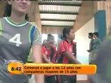 Una mujer ha entregado su vida al deporte de los aros: el baloncesto