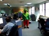 Very funny Irish dancing leprechaun