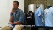 Ledesma, la conferenza stampa d'addio alla Lazio
