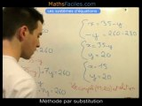 Systèmes d'équation - 3ème - Maths Faciles