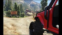 GTA 5 PC: Off-Roading! Mesa Off-Road (Jeep Wrangler)