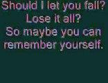 Evanescence: Call Me When You're Sober (lyrics)