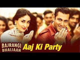 Aaj Ki Party VIDEO SONG ft Salman Khan axed from Bajrangi Bhaijaan