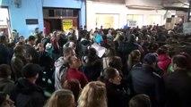 Protest impotriva lui Ponta la Cluj-Napoca