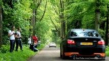 BMW M5 SS w/ Eisenmann Race Exhaust! - Amazing SOUND (+ other M5 w/ Eisenmann)!