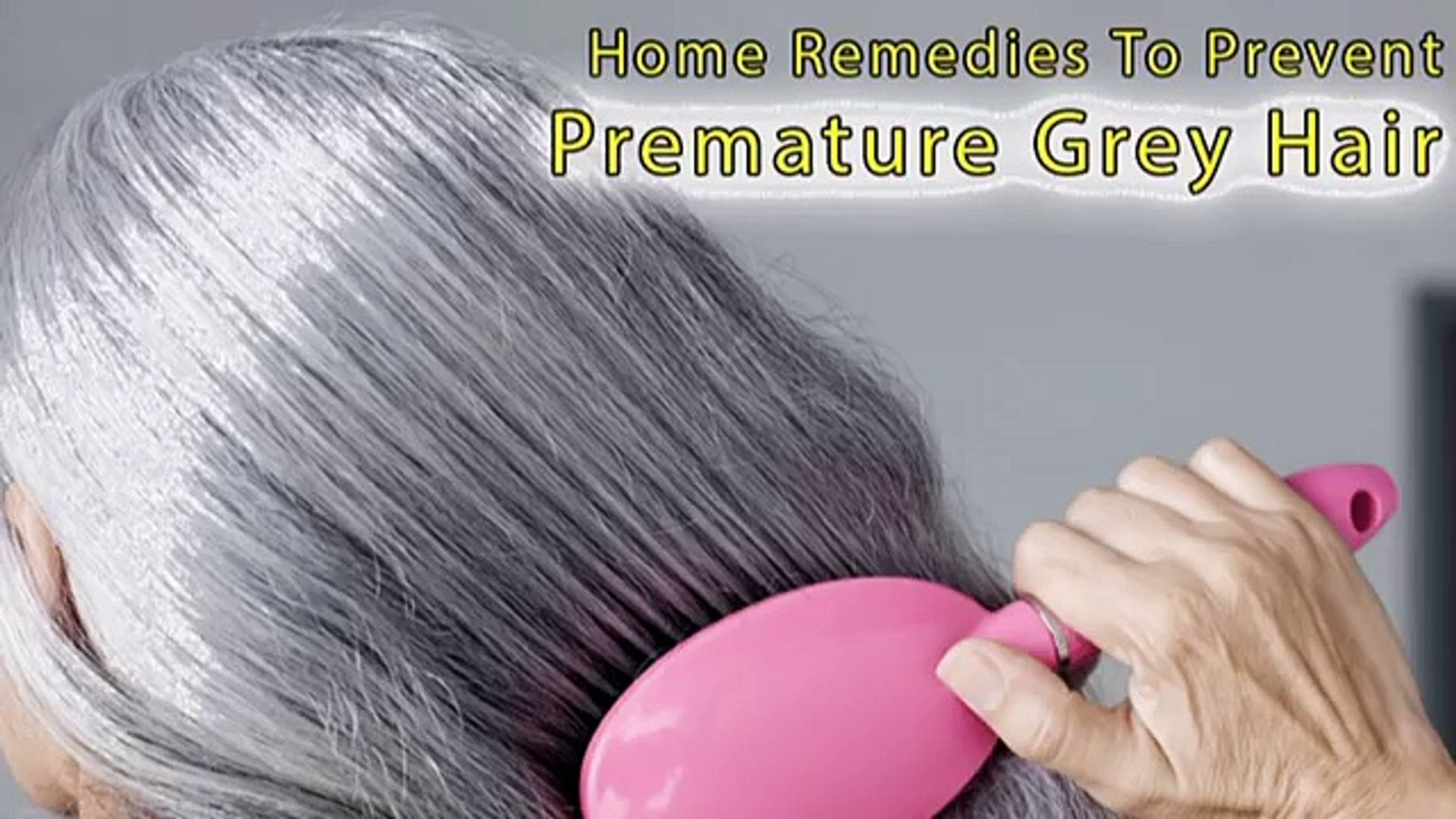 How to Stop Hair from becoming white or Grey Using Home ...