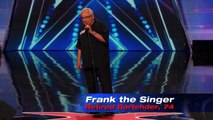 America's Got Talent 2014 - Frank The Singer: 74-Year-Old Channels Frank Sinatra