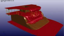 Ship wheelhouse collision analysis LS-DYNA