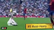 Las 10 asistencias de Lionel Messi que levantaron a la grada
