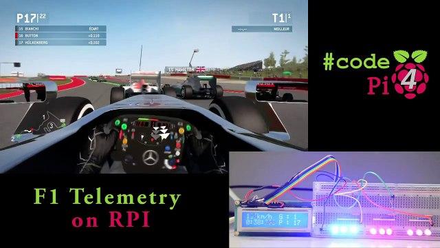 F1 Telemetry on Raspberry Pi