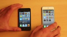 iPod Touch 5G vs. 4G Speed Test & Hardware Comparison, Vergleich [iPod Touch 5th Gen vs 4th Gen]